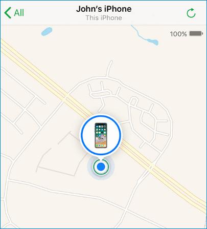 Find my Phone на телефоне