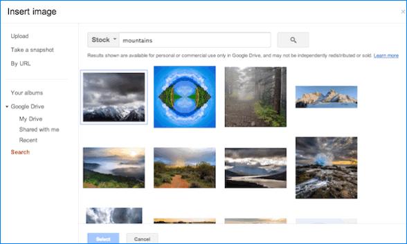 Поиск стоковых фото Гугл Диск