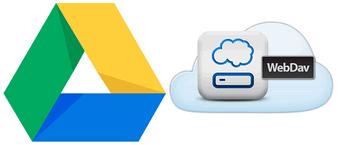 WebDAV для Google Drive